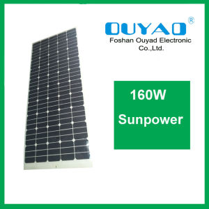 Semi Flexible Solar Panel 160W Flexible Sunpower Solar Panel pictures & photos