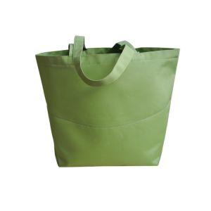 Polyester Light Gray Shopping Bag