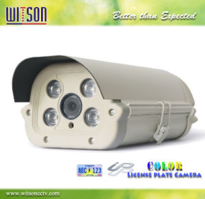 License Plate Camera 1080P HD CCTV Camera with Starlight Color Night Vision Witson (W3-CNW3120LP) pictures & photos