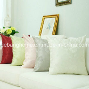 Silk Satin European Style Sofa /Office Jacquard Weave Cushion pictures & photos