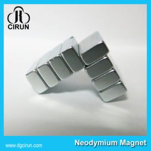 Block Strong N35 NdFeB Permanent Magnets pictures & photos