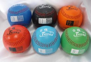 7oz ~ 12oz Rubber Core PVC Leather Weight Ball