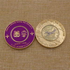 Promotion Custom Soft Enamel Metal Golf Ball Marker Challenge Coins pictures & photos