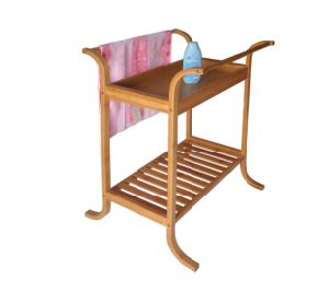 Bamboo Bathroom Rack Rail Bamboo Racks Shelf Bathroom Towel Rack pictures & photos