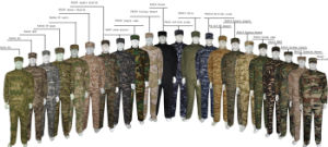 23 Colors Airsoft Acu Suit Wargame Paintball Army Military Uniform pictures & photos