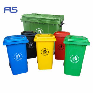 Durable Hot Sale Plastic Waste Container with Colorful Colors pictures & photos