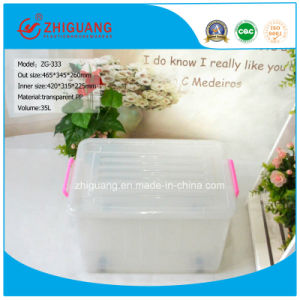 Stackable Plastic Storage Box with Lid for Logistics Transportion pictures & photos