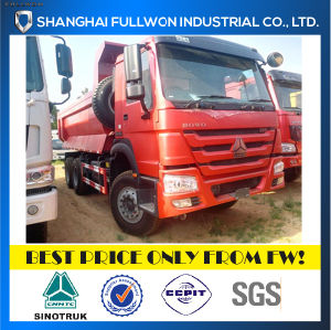 HOWO 6X4 25 Ton New Design U Type Dump Truck pictures & photos