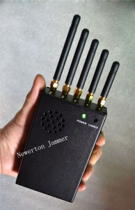 Portable Signal Jammer Blocker for Cellular Phone WiFi GPS pictures & photos