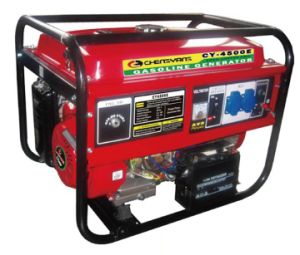 Recoil / Electric Gasoline Generator (CY-4500) pictures & photos