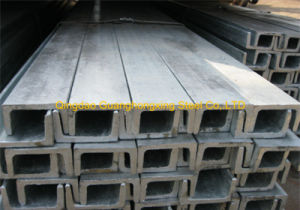ASTM A36 Structural Hot Rolled Steel Channel pictures & photos