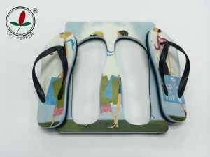 Colorful EVA Board Flip Flops with Bottle Opener pictures & photos