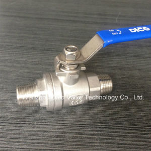 Double Male Thread 2PC Floating Ball Valve (Q21F-16P) pictures & photos