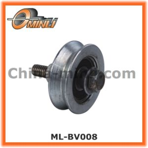 White Zinc Plated Metal Pulley Roller for Gate (ML-BV008) pictures & photos