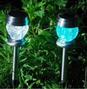 New Products Recommended LED Lamp Solar Energy Stainless Steel Yard Lamp pictures & photos