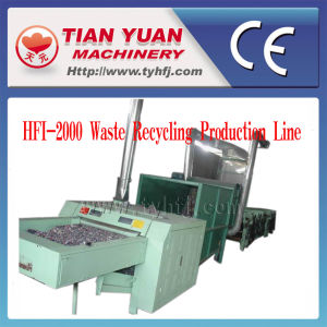 Waste Fiber Clothes Recycling Production Line (HFI-2000) pictures & photos