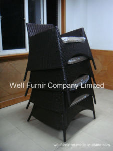 Stacktable Rattan Chair/Wicker Sofa/Rattan Garden Chair/Outdoor Furniture pictures & photos