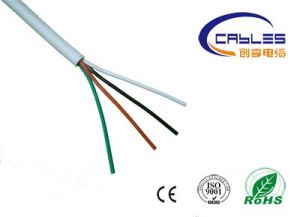 Made in China Popular Cable PVC Jacket 18AWG 4 Cores Shielded Security Alarm Cable pictures & photos
