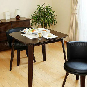 Solid Wooden Dining Table Living Room Furniture (M-X2897) pictures & photos