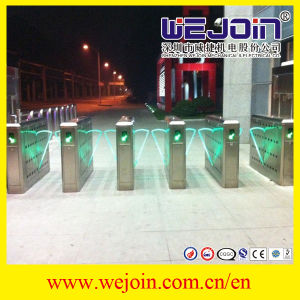 Flap Barrier Gate/Automatic Turnstile/Automatic Gate/Card Read Gate/Passage Gate/ Subway Price Gate pictures & photos