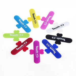 Mini Sticky Customized Logo Soft Silicone Mobile Phone Holder pictures & photos