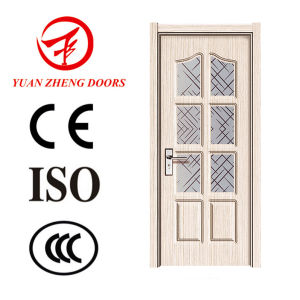 Latest Design PVC Door Prices Wood Door Handle pictures & photos