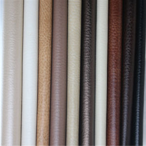 New Ant-UV Solvent-Free PU Synthetic Leather for Office Furniture Sofa pictures & photos