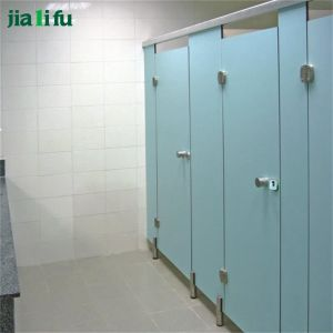 Jialifu Public Fireproof Board Toilet Partition for Sale pictures & photos