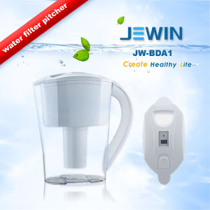 Plastic Portable Mini Water Filter Pitcher with Digital Timer pictures & photos