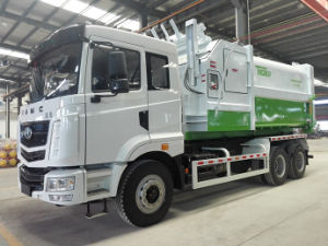 Garbage Compressor Vehicle From Hunan Teda Company pictures & photos