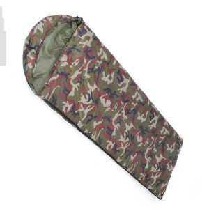 Warm Winter Camouflage Thick Envelope Sleeping Bag pictures & photos