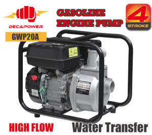 2 Inch Portable High Flow Water Transfer Gasoline Power Water Pump
