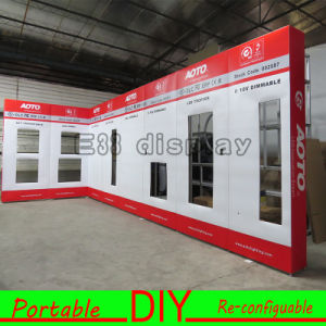 Aluminum Material Special Portable Modular DIY Exhibition Booth Trade Fair Display Stand with MDF Panels pictures & photos
