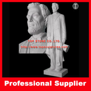 Abraham Lincoln Stone Carving Marble Sculpture for Home or Garden pictures & photos