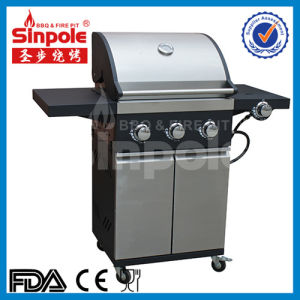 Stainless Steel 4 Burner Gas Grill with Ce/GS Approved (KLD6005) pictures & photos
