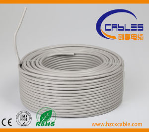 Telephone Cable CAT6 with Messenger pictures & photos