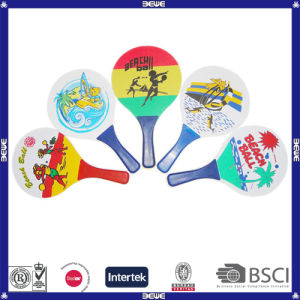 2014 Hot Sale High Quality Wood Promotion Beach Racket pictures & photos