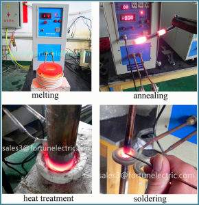 7kw/15kw IGBT High Frequency Induction Heat Treatment Furnace pictures & photos