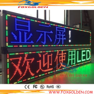 Outdoor Red/Blue/Yellow/Green P10 LED Display Sign pictures & photos