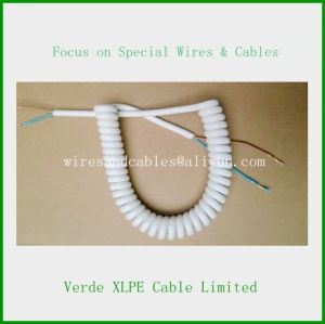 Hot Sale Pur Coiled Spring Wire Spiral Cable pictures & photos