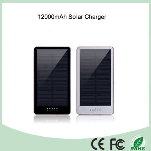 Waterproof Silicone Flashlight Solar 12000mAh Power Bank (SC-1688) pictures & photos