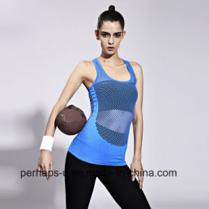 High Quality Quick-Drying Yoga Fitness Clothes Sport Vest pictures & photos