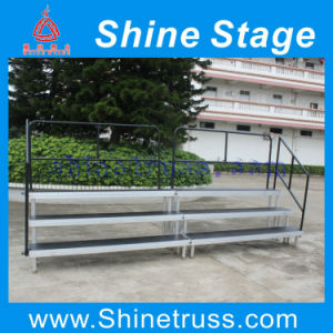 Portable Stage System Choral Riser Choral Stage Platform Risers Stage pictures & photos