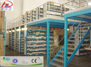 Steel Mezzanine Storage Shelf with SGS Approved pictures & photos