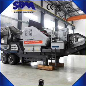 Sbm Portable Crusher, Mobile Cone Crusher Plant pictures & photos