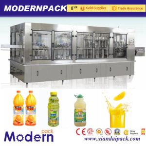 Four Fruit Juice Filling Production Equipment/Drink Pulp Filling Line pictures & photos