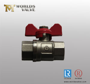 Brass Mini Ball Valve Made in China pictures & photos