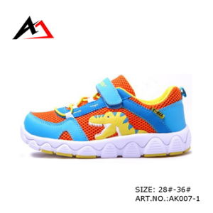 Sneaker Shoes Leisure Footwear Carton Dinosaur for Children (AK007-1) pictures & photos