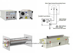 Glass Split Type Corona Processing Frame Corona Treatment Station (HW-DF600) pictures & photos