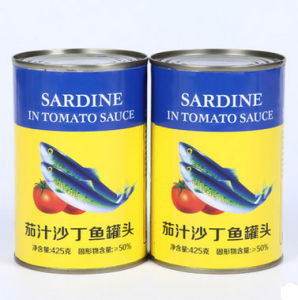 425g Canned Sardine with Top Quality pictures & photos